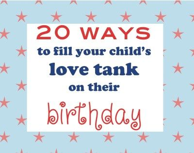 20 ways to make Birthday's special