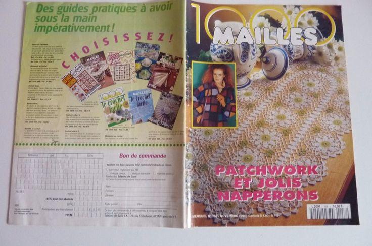 100 Mailles Patchwork et jolis Napperons1994