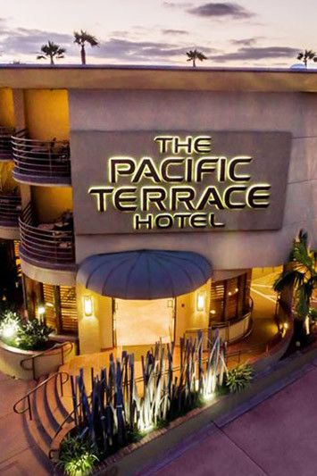 A FOUR DIAMOND BEACHFRONT SAN DIEGO HOTEL Perched on a sandy bluff overlooking the sparkling ocean, the Pacific Terrace Hotel provides Four Diamond, beachfront accommodations in San Diego's Pacific Be