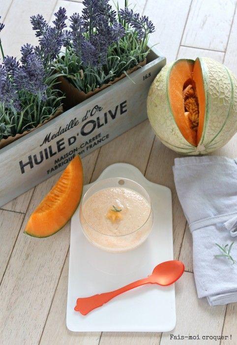 Mousse de melon #melon #mousse #recette #provençale #provence #lavande #cuisine #food #sud #south #france