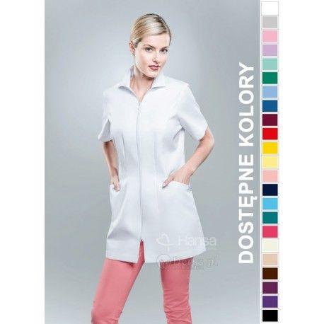 Odzież medyczna dla kobiet. | Bluza damska kolorowa 1505 - z pewnością będzie to strzał w 10-tkę dla pielęgniarek i lekarzy. | Sklep internetowy Dersa |