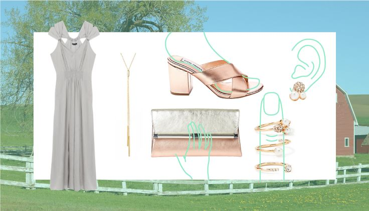 What To Wear To An Outdoor Wedding - SELF
