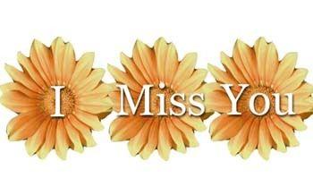 Chýbaš mi