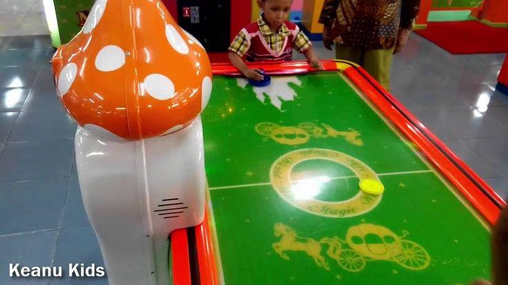 Asyiknya bermain Game Master Arcade Timezone Playground Indoor Keanu Kid...