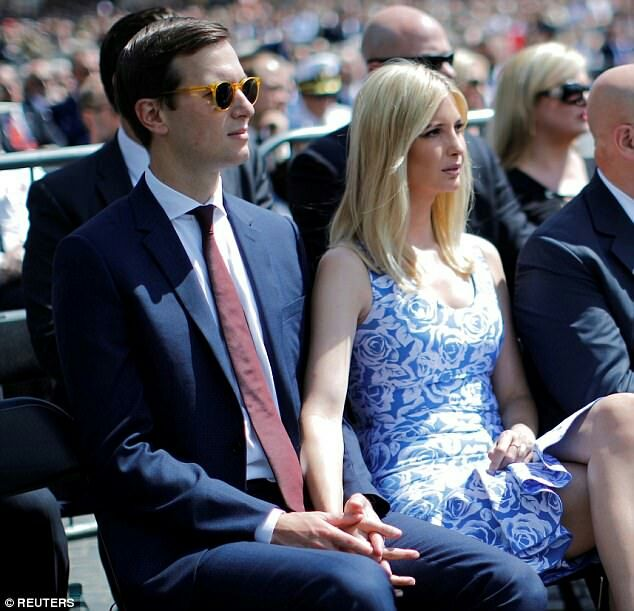 Are we witnessing the birth of a political dynasty?   Jared Kushner and Ivanka Trump work hard and play harder
