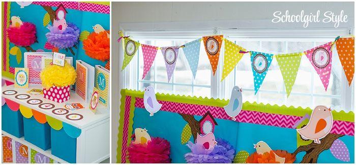 Orange Classroom Decor ~ Best images about bright bird classroom theme on