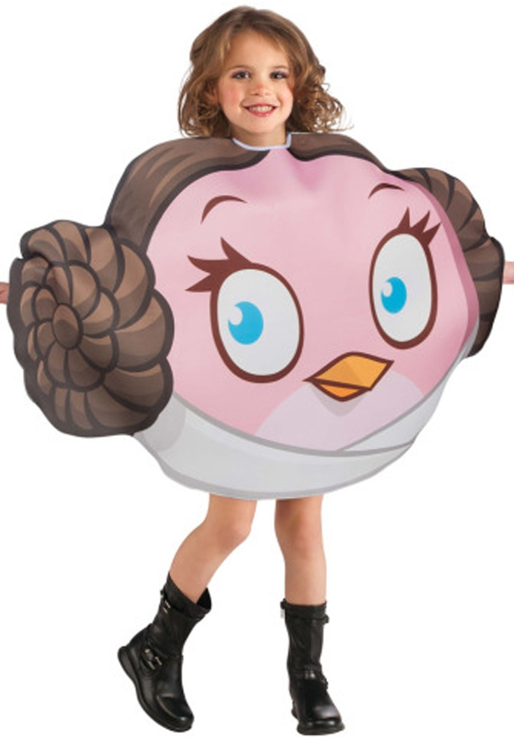 Angry Bird Princess Leia Costume - Child