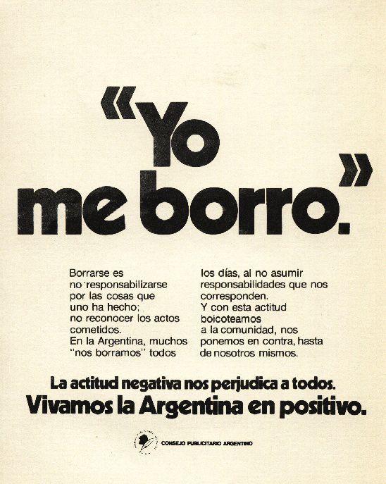 """""""Vivamos la argentina en positivo 3""""-1976"""