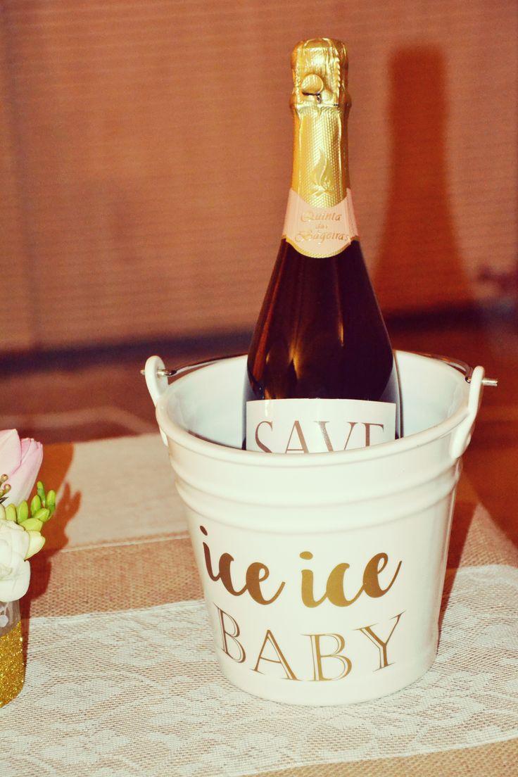 Customized Champagne bottle
