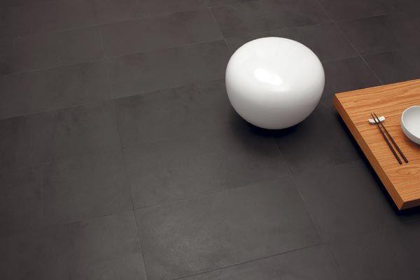 Porcelain Tile: Anthracite ground: New ground