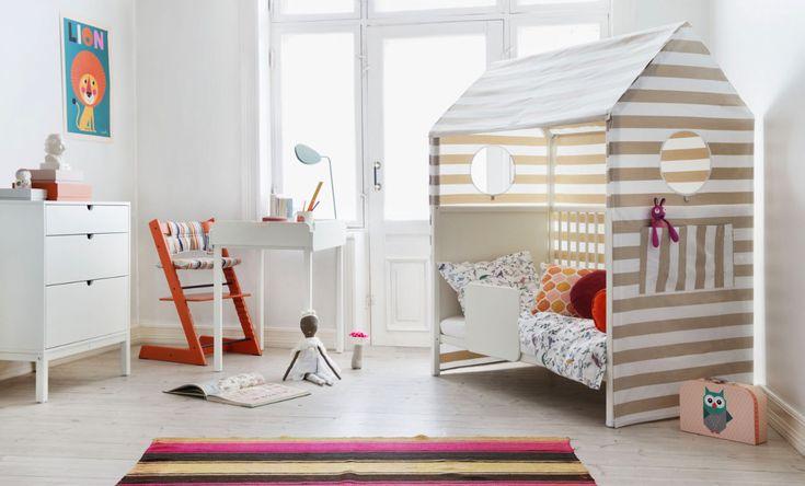 Inspiration & Mood: Kids' Room  A secret den for kids | Stokke, bed Home™ |