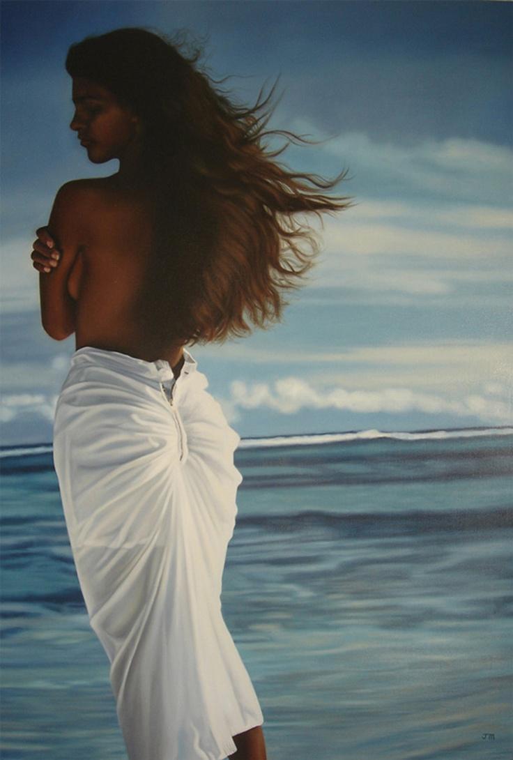 Jacqueline Marr oil painting