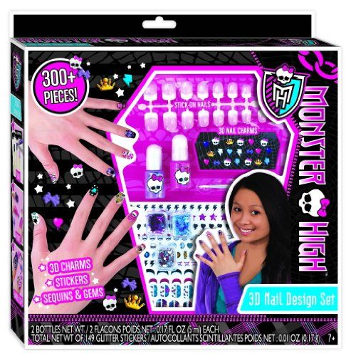50 best monster high makeup set images on pinterest makeup set monster high 3d nail design set monster highhttpamazon prinsesfo Gallery