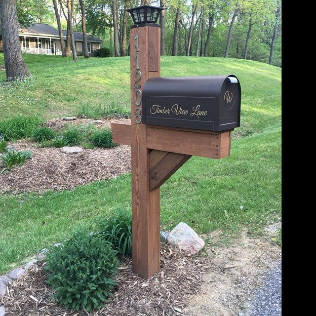 Pin On Mailbox Designs
