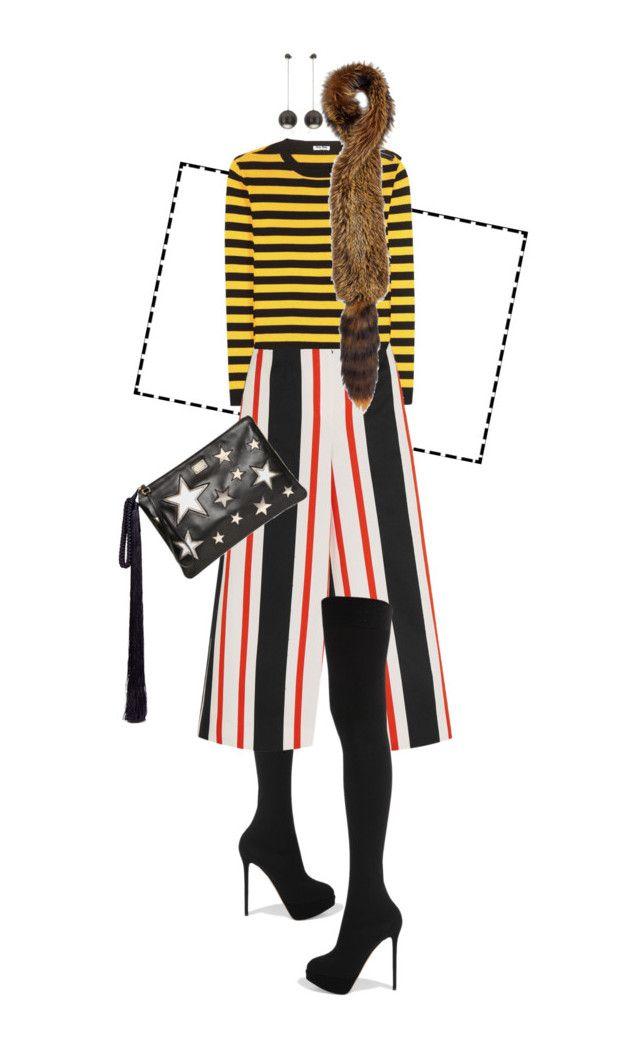 """queria tanto um inverno ameno"" by nandusho ❤ liked on Polyvore featuring Charlotte Olympia, Miu Miu, Dolce&Gabbana, The Row, Marni, Salvatore Ferragamo, women's clothing, women's fashion, women and female"