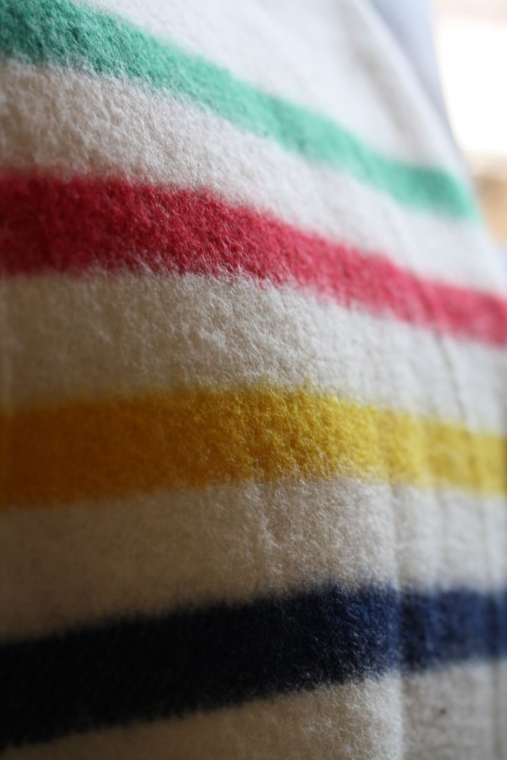 31 best hudsons bay point blankets images on pinterest clothes a hudsons bay point blanket the classic design featuring green stripe red stripe yellow stripe and indigo stripe on a white background bankloansurffo Image collections