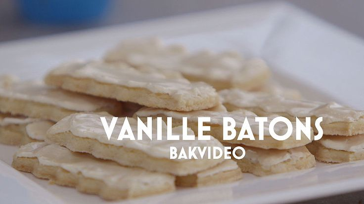 De vanille batons van Janny en Robèrt #HHB #HeelHollandbakt #HHBrecepten #HeelHollandbaktrecepten