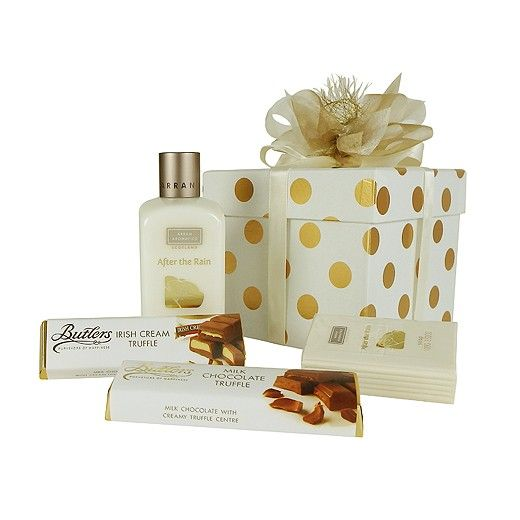 White Gold Gift Box - Bestow Gifts New Zealand