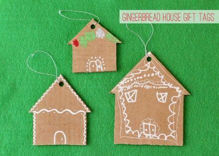 Tutorial | Cardboard Gingerbread House | CraftGossip.com