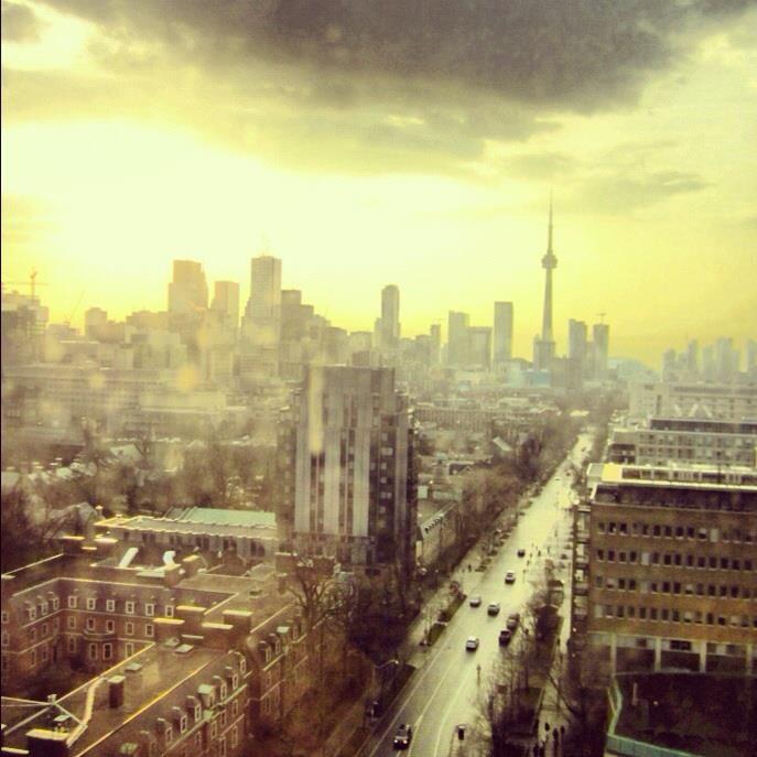 St. George street view, Toronto