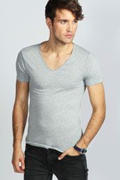 Basic V-Neck T Shirt  from Boohoo on discounted prices, use promo and discount codes.