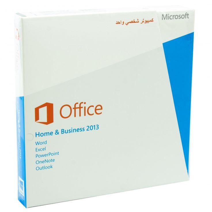 Microsoft Office: Home & Business 2013, Arabic, 1 User