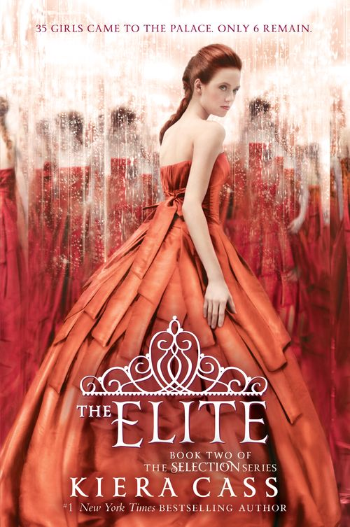 My Book and My Coffee: Book Review: The Elite by Kiera Cass