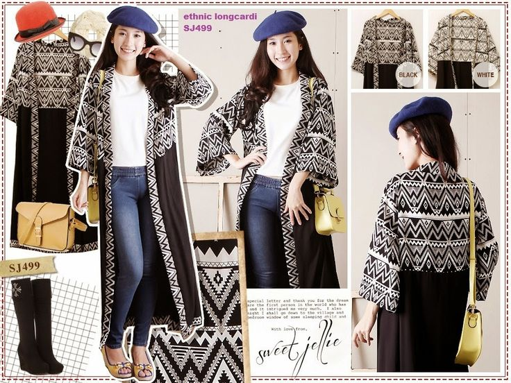 Windriya Ethnic Long Cardigan