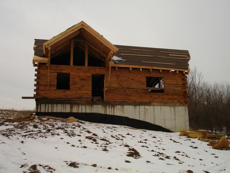 Schutt log homes and mill works chalet oak log cabin kits for Chalet cabin kits