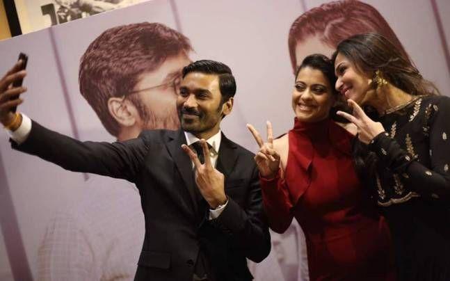 SEE PICS: Dhanush, Kajol and Soundarya Rajinikanth at VIP 2 trailer launch - http://indianews23.com/blog/see-pics-dhanush-kajol-and-soundarya-rajinikanth-at-vip-2-trailer-launch/