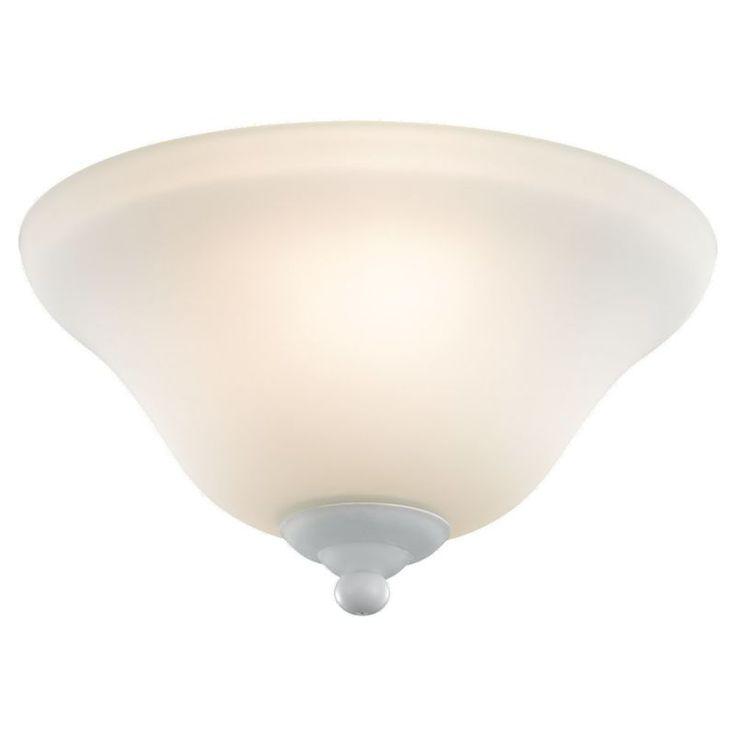 Sea Gull Lighting 16021BLE-33 Ceiling Fan Light Kit in Satin White Finish Satin White Ceiling Fan Accessories Light Kits Light Kits