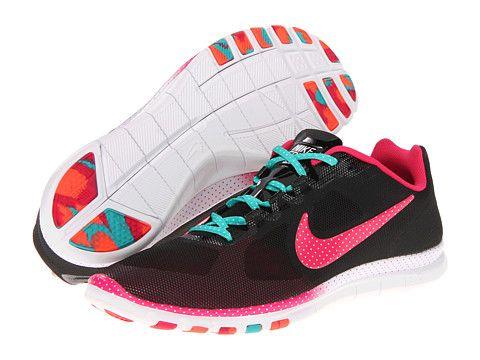 Nike Free Advantage Polka Dot Print Total Crimson/Sport Turquoise/Pink Force - Zappos.com Free Shipping BOTH Ways