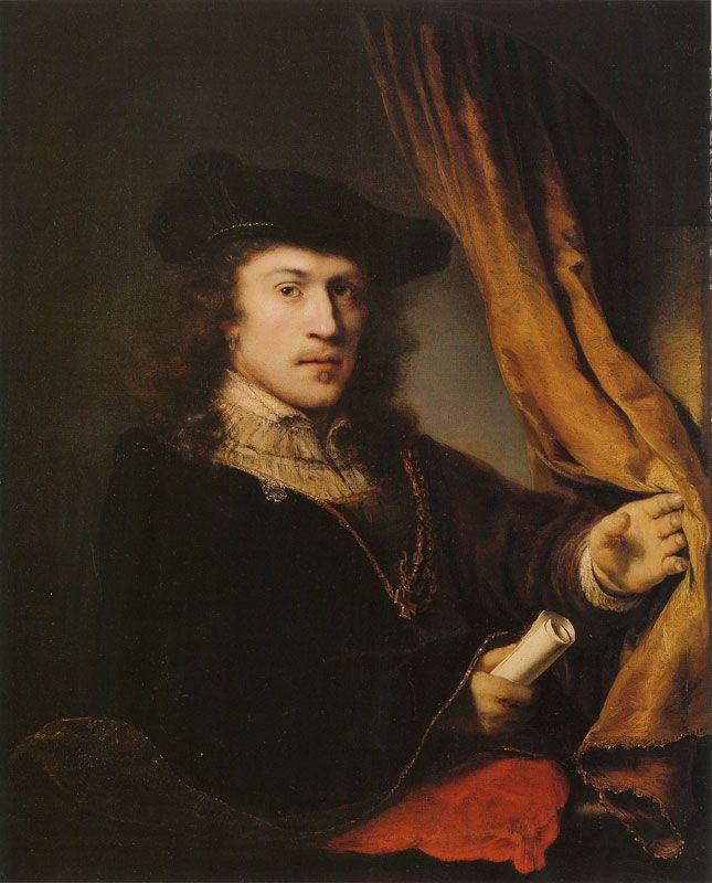 Ferdinand Bol, c. 1648 - - - Self-portrait