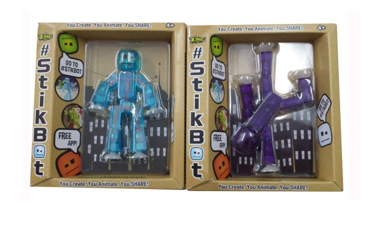 StikBots are stylish poseable characters used to make your own animation film creations #StikBot.