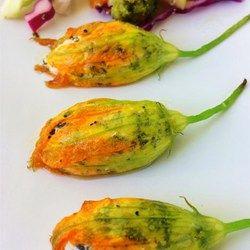 Oven Roasted Stuffed Squash Blossoms - Allrecipes.com