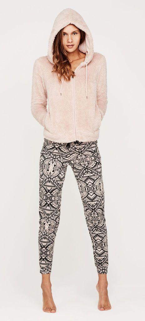Pantalon rose pâle bohiz