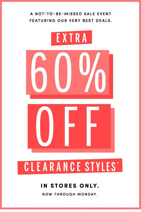 60% Off Clearance Styles|#Poster|J.Crew Factory