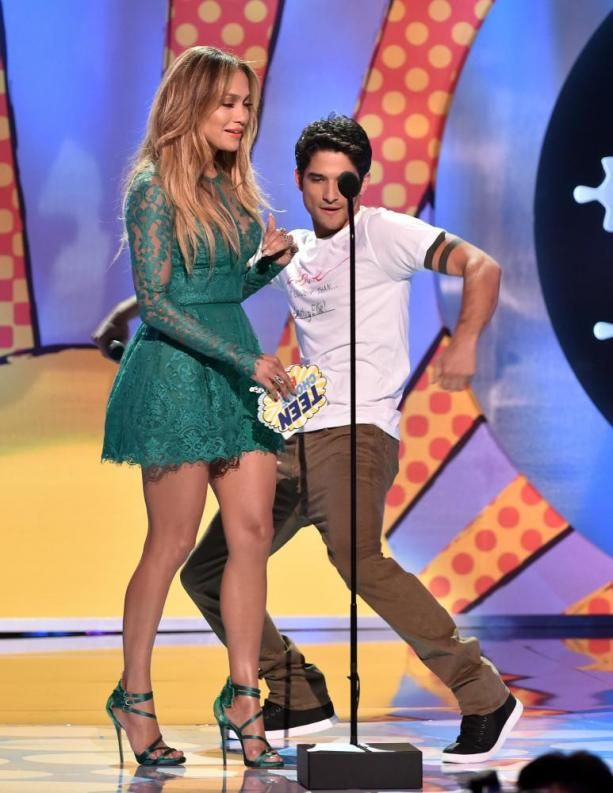 Jennifer Lopez and Tyler Posey get together again at TCA - I4U News