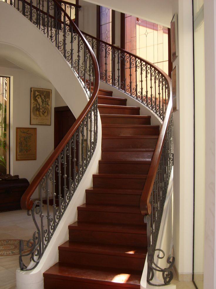 Baranda para escalera principal barandas bolivia pinterest barandas para escaleras - Barandas para escaleras ...