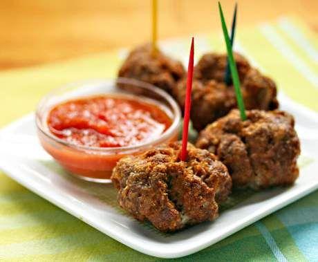 Recept Britské masové koktejlové kuličky od Reine - Recept z kategorie Hlavní jídla - maso