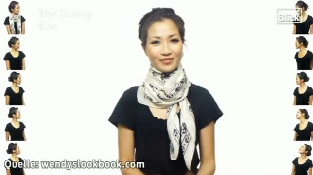 Anleitung: Schals und Tücher binden (25 Varianten)