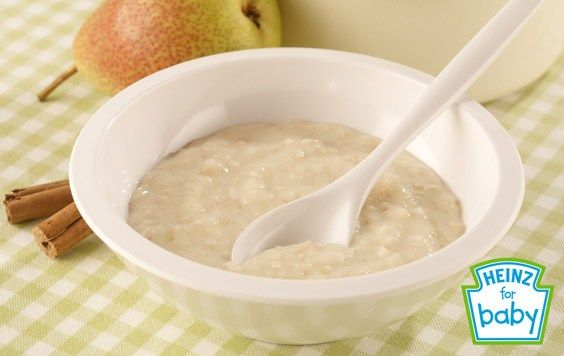 Use pears or apples for this fruit-packed breakfast, suitable from 7 months