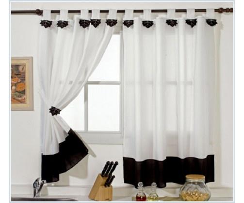 17 mejores ideas sobre cortinas para cocina en pinterest for Disenos de cortinas para cocinas modernas