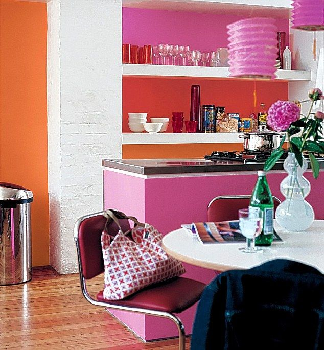 Flik By Design Dreaming Of An Orange Kitchen: 54 Best Interiors: Kitchens Images On Pinterest