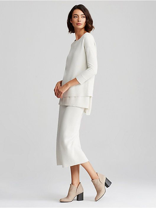 1000 Images About Eileen Fisher On Pinterest Scoop Neck
