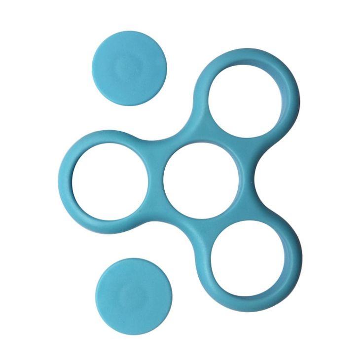 6 Color Fidget Spinner Toy Pvc EDC Hand Spinner For Rotation Time Long Hybrid eramic Bearing Anti Stress Fidget Toys #Affiliate