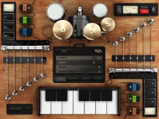 """""""Así hace música cualquiera"""". Artículo publicado en El País. En la imagen: Rockmate, App en la que cuatro personas pueden formar una banda."""