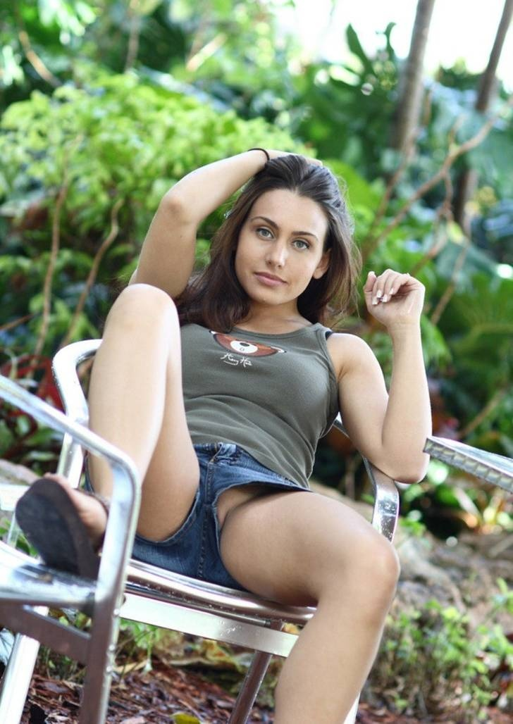 girls sitting down with loose shorts pics