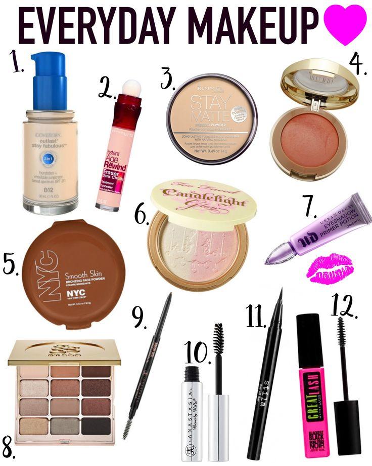 Everyday Makeup Routine | Madison Martine http://www.madisonmartine.com/everyday-makeup-routine/