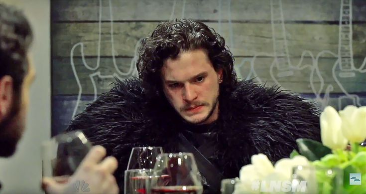 Jon Snow might be the honorable bastard in Game of Thrones, but he also makes one awkward dinner guest. In a segment for Late Night with Seth Meyers, Seth invites the illegitimate son of Ned Stark over for some wine, food, and conversation with a small group of friends.